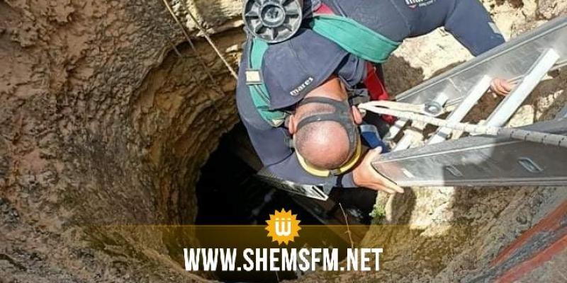 بنزرت: وفاة شخصين خلال أعمال صيانة بئر ارتوازية فلاحية بمنطقة بئر السويسري برأس الجبل