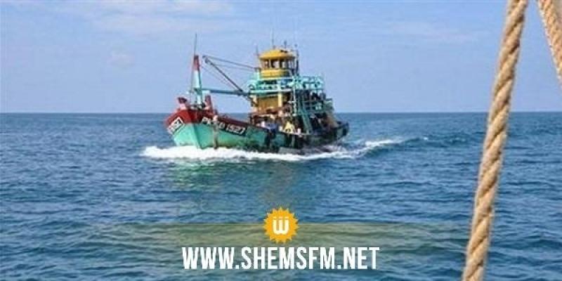 مدنين: خفر السواحل الليبي يحجز مركب صيد تونسي