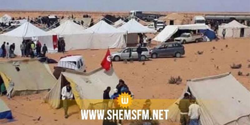 تنسيقية اعتصام الكامور ترفض قرارات المجلس الوزاري وتقرر التصعيد