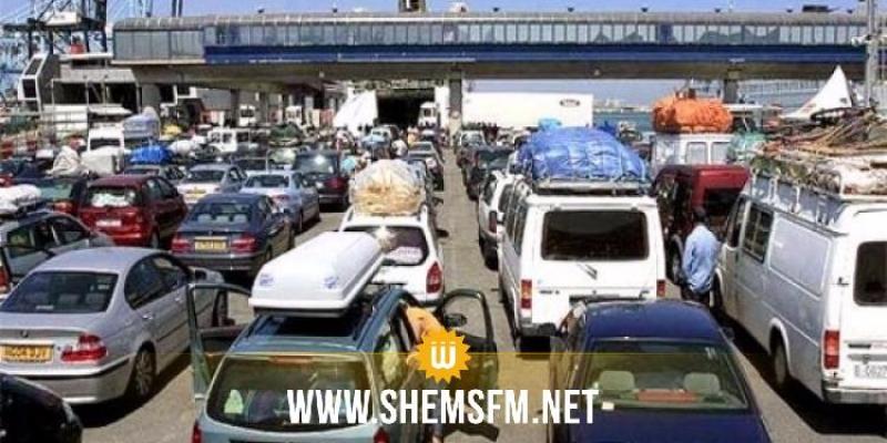 اليوم: باخرة تانيت تحل بميناء حلق الوادي وعلى متنها أكثر من 2000 مسافر ا