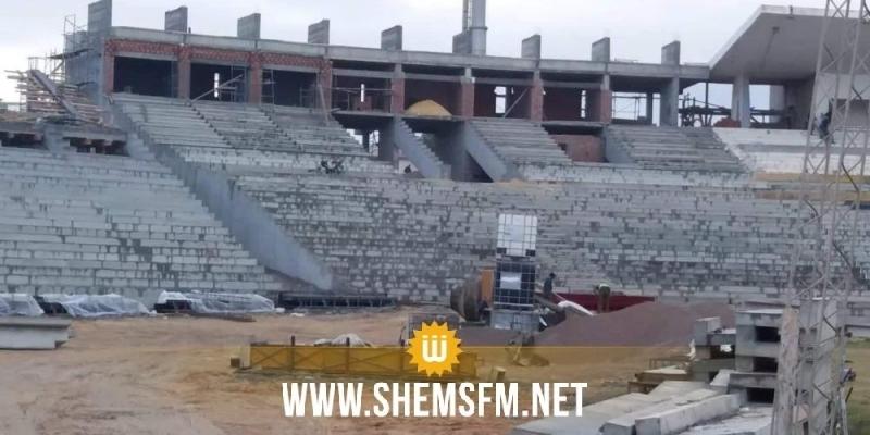 خاص: التهديد بإيقاف أشغال الملعب الأولمبي بسوسة لهذه الأسباب (صور)