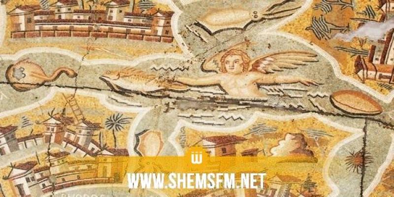 موجودة بمتحف باردو: إعادة فسيفسائية البحر الأبيض المتوسط إلى تونس