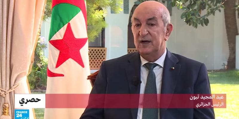 الرئيس الجزائري يُطالب فرنسا بالاعتذار عن استعمارها لبلده