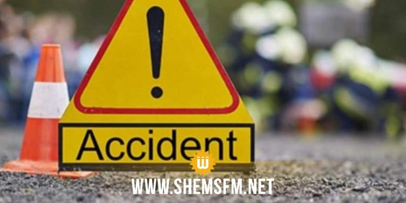 جندوبة: إصابة 08 أشخاص في حادث مرور