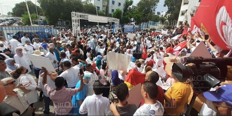 الجامعة العامة للصحة تدعو إلى تعليق الوقفة الاحتجاجية المقررة غدا