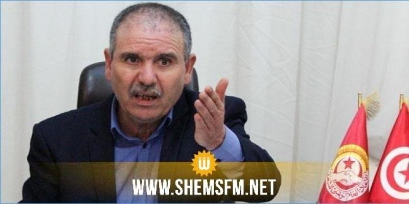 الطبوبي: تسريب وثيقة إقالة ر.م.ع الخطوط التونسية 'فضيحة'