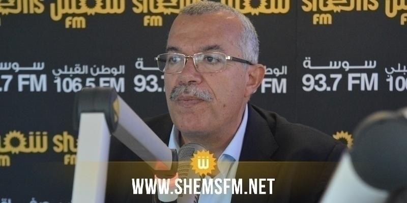 Nourredine Bhiri à Abir Moussi : « les prochains jours, on verra quel parti sera dissous »