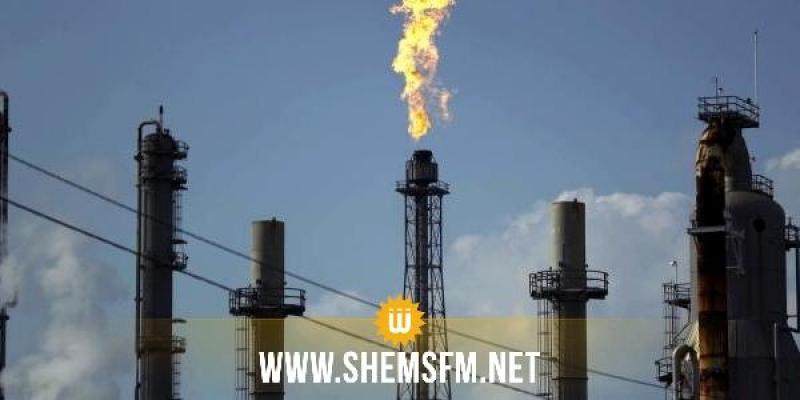 تراجع طفيف في إنتاج الغاز الطبيعي