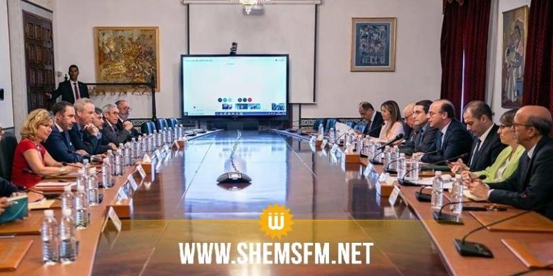إجتماع رفيع المستوى بين الحكومة والشركاء الماليين