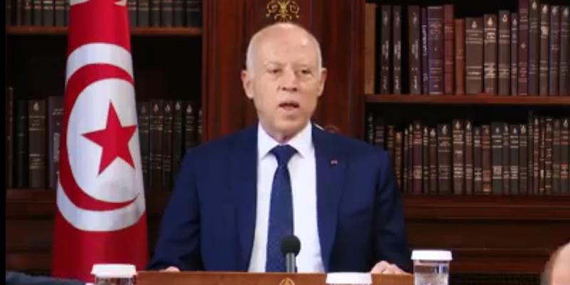 قيس سعيّد: 'تونس تعيش أخطر اللحظات وهناك من يسعى إلى تفجير الدولة من الداخل' (فيديو)