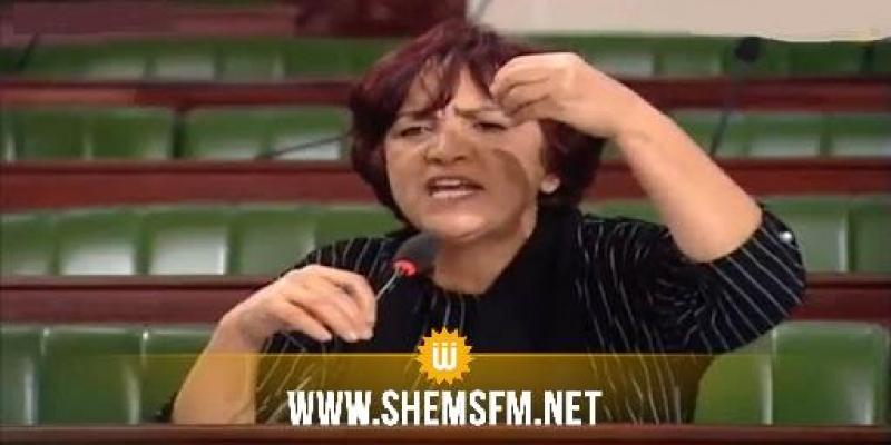 سامية عبو: خروقات مفزعة في البرلمان ودعوة للتداول في تقييم عمل المجلس وتسييره