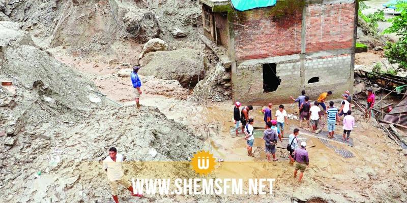 نيبال: مقتل 23 شخصا جراء سيول وإنهيارات أرضية
