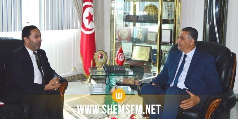 دعم التعاون العسكري ومزيد تطويره محور لقاء وزير الدفاع بسفير الأردن في تونس