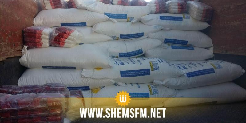 أريانة : حجز 30 طنا من السكر المدعم و3 أطنان من المخلّلات المتعفّنة