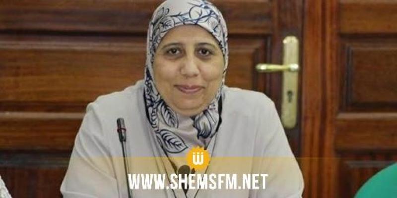 يمينة الزغلامي تدعو رئيس البرلمان للبث المباشر لاشغال المكتب وتؤكد ان البرلمان سبق ان استقبل مشمولين ب's17'