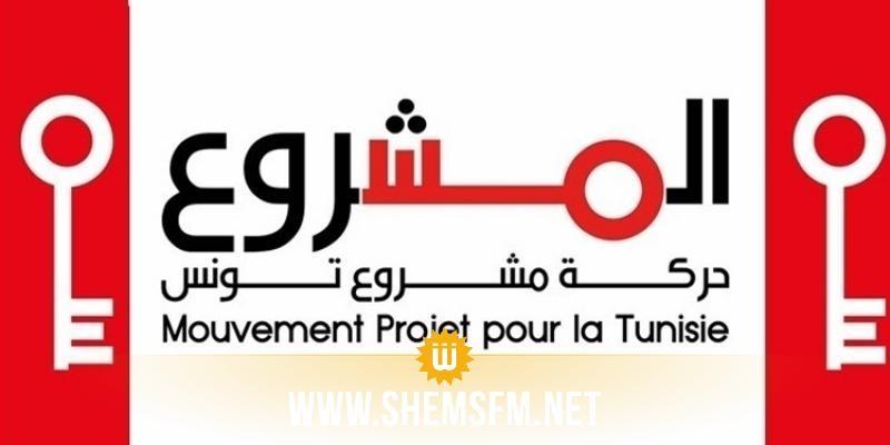 حركة مشروع تونس تطالب بفتح تحقيق جدي ضد رئيس كتلة ائتلاف الكرامة
