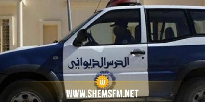 القصرين: انقلاب سيارة تابعة لفرقة الحرس الديواني