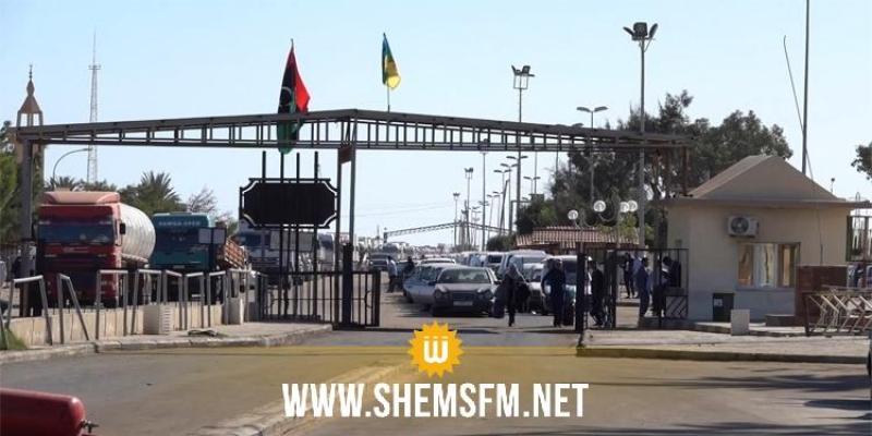 بن قردان : 309 مواطنا ليبيا يعودون الى ليبيا عبر معبر راس اجدير