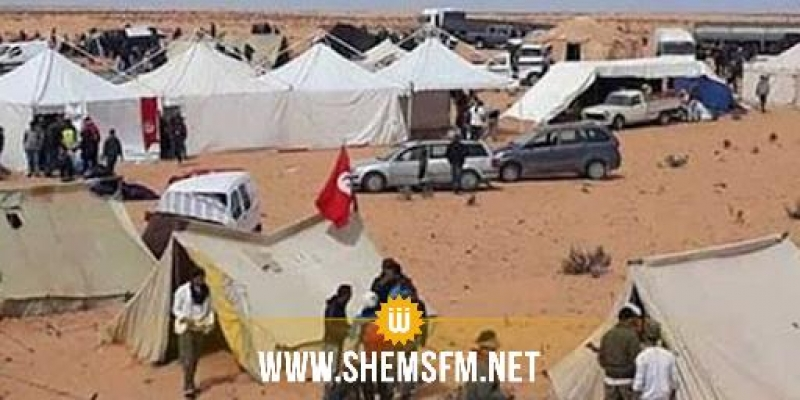 بعد احتجاز شاحنة مؤونة في الكامور: تسخير طائرة عسكرية لنقل المواد الغذائية إلى العمال
