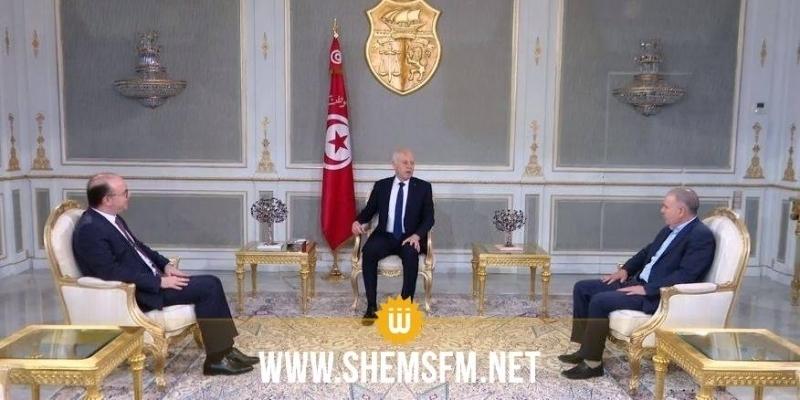 Kais Saied : « il n'y aura pas de négociations tant que le chef du gouvernement est en plein pouvoir»
