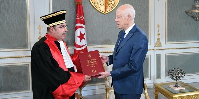 رئيس الجمهورية يتسلم التقرير السنوي لمحكمة التعقيب