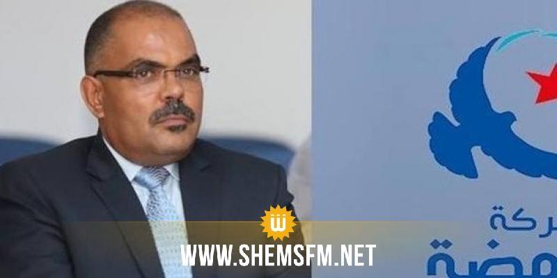 القوماني:''حركة النهضة تقر بوجود طرق دستورية لانهاء مهام رئيس الحكومة''