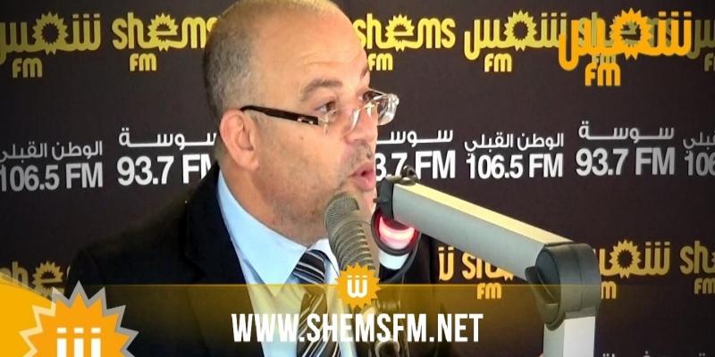 سمير ديلو:''وزراء حركة النهضة  في الحكومة ليسوا منتصبين للحساب الخاص''