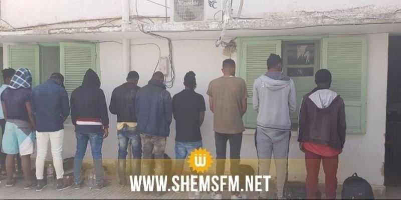 EL Kef : arrestation de 10 subsahariens clandestins