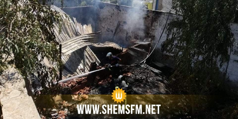 بنزرت: حريق داخل سوق الخردة بمنطقة 'سكمة'