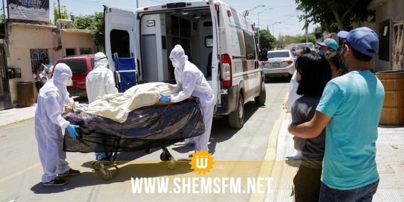 المكسيك تسجل 668 وفاة و6406 إصابات جديدة بكورونا