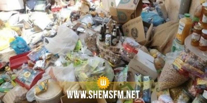 جندوبة: حجز مواد غذائية متعفنة بأحد الفضاءات التجارية الكبرى ببوسالم