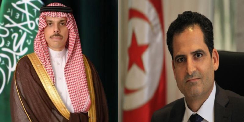 بينها الوضع في ليبيا: وزير الخارجية ونظيره السعودي يتبادلان وجهات النظر في عدد من الملفات الدولية والإقليمية