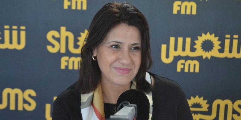 وزيرة المرأة تتعرض إلى حادث مرور