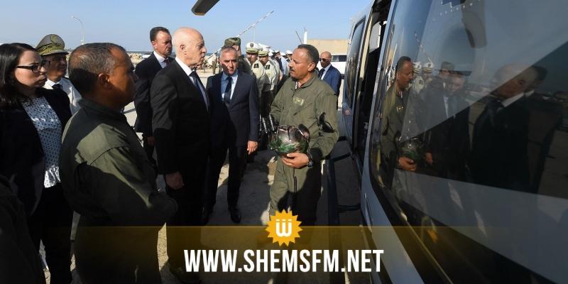 سعيد: 'رغم المحاولات اليائسة لاختراق أجهزة الدولة.. تونس دولة واحدة ولها رئيس واحد'