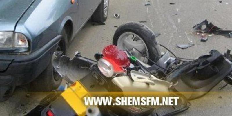 المنستير: وفاة طفل وإصابة آخر في حادث مرور