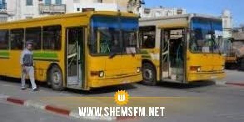 TRANSTU: changement provisoire des itinéraires des lignes bus 32C, 71 et de la ligne El Jayara-Slimane Kahia