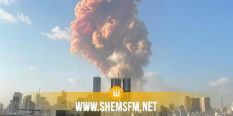 انفجار مرفأ بيروت: سقوط 10 قتلى و عدد الإصابات لا يحصى