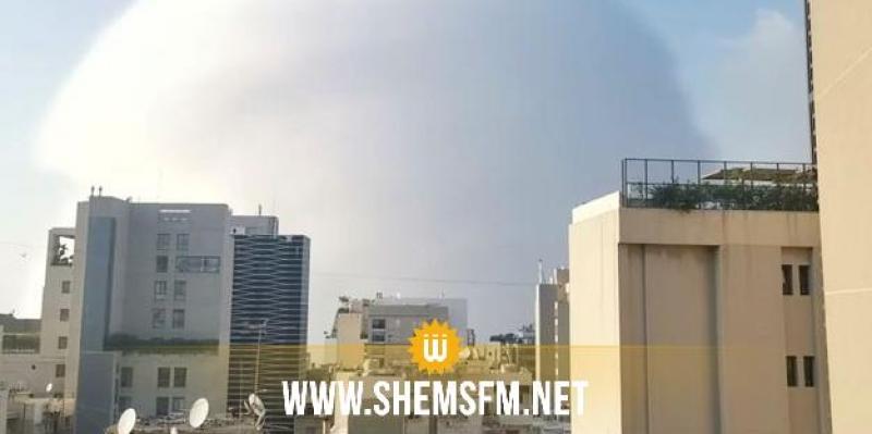 2750 tonnes de nitrate d'ammonium seraient à l'origine des explosions à Beyrouth