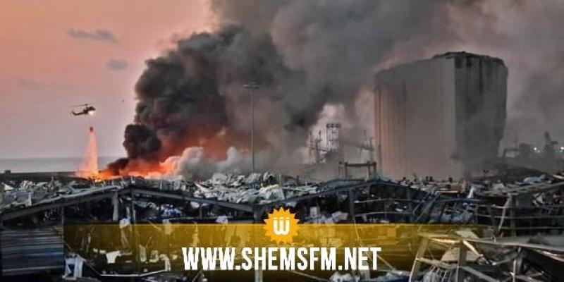 انفجار بيروت: صحفي تونسي مقيم بلبنان يؤكد علاج المصابين في الشوارع بسبب اكتظاظ المستشفيات