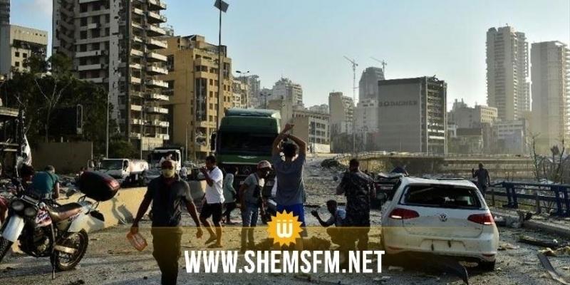Explosions à Beyrouth: plus de 100 morts et 300 000 personnes sans domicile
