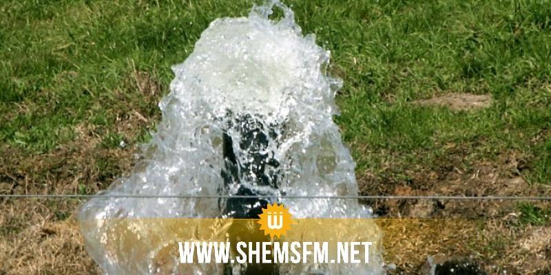 نفزة: الأمن يتدخل لإعادة تشغيل محطة ضخ مياه السد بعد غلقها من قبل محتجين