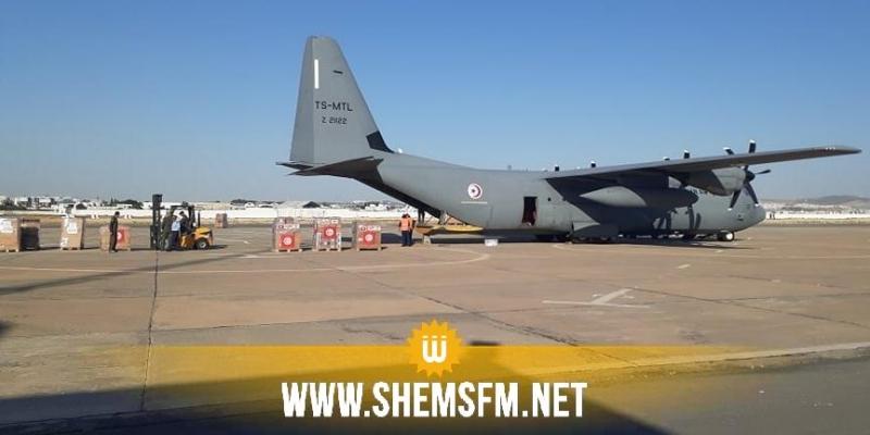 تونس ترسل طائرتين عسكريتين محملتين بالمساعدات الطبية والغذائية إلى لبنان