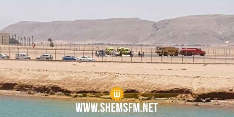 مصر.. سقوط طائرة خاصة بمطار الجونة