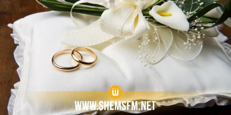 قابس: عقود الزواج بحضور 12 شخصا فقط بسبب كورونا