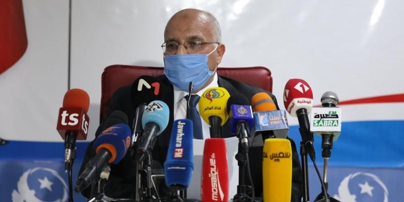 الهاروني: 'الغنوشي أكد للمشيشي ضرورة تشكيل حكومة سياسية'
