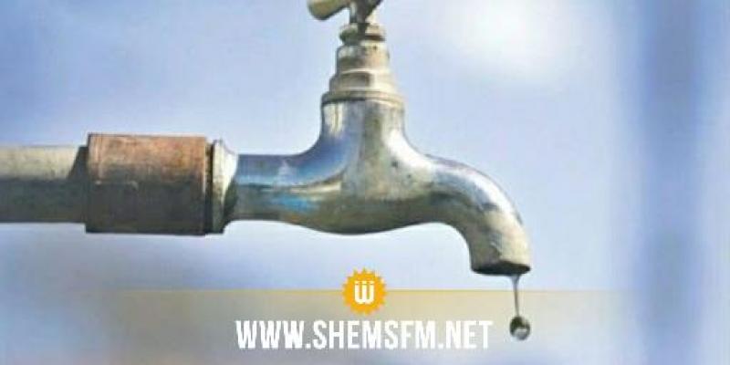 غدا: إضطرابات في توزيع مياه الشرب بعدّة مناطق من حي التضامن