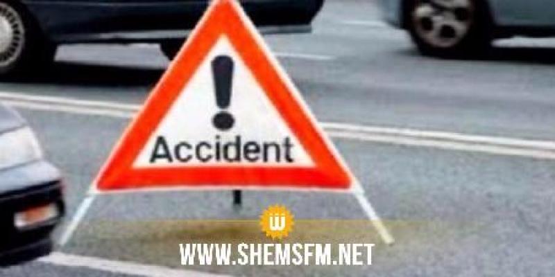 بينهم 3 إصابات خطيرة: إصابة 14 شخصًا في حادث مرور بصفاقس