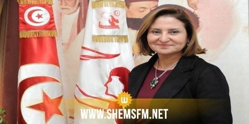 راضية الجربي تدعو هشام المشيشي إلى تعزيز تمثيلية المرأة في الحكومة