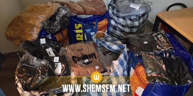 باجة: حجز كمية من الملابس المهربة بقيمة 61 ألف دينار