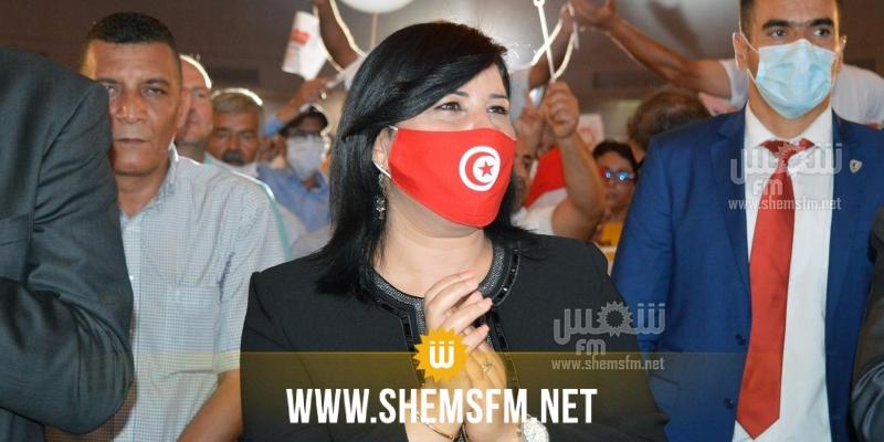 عبير موسي: هذه السنة البرلمانية تعتبر سنة مرجعية في العنف السياسي ضد المرأة